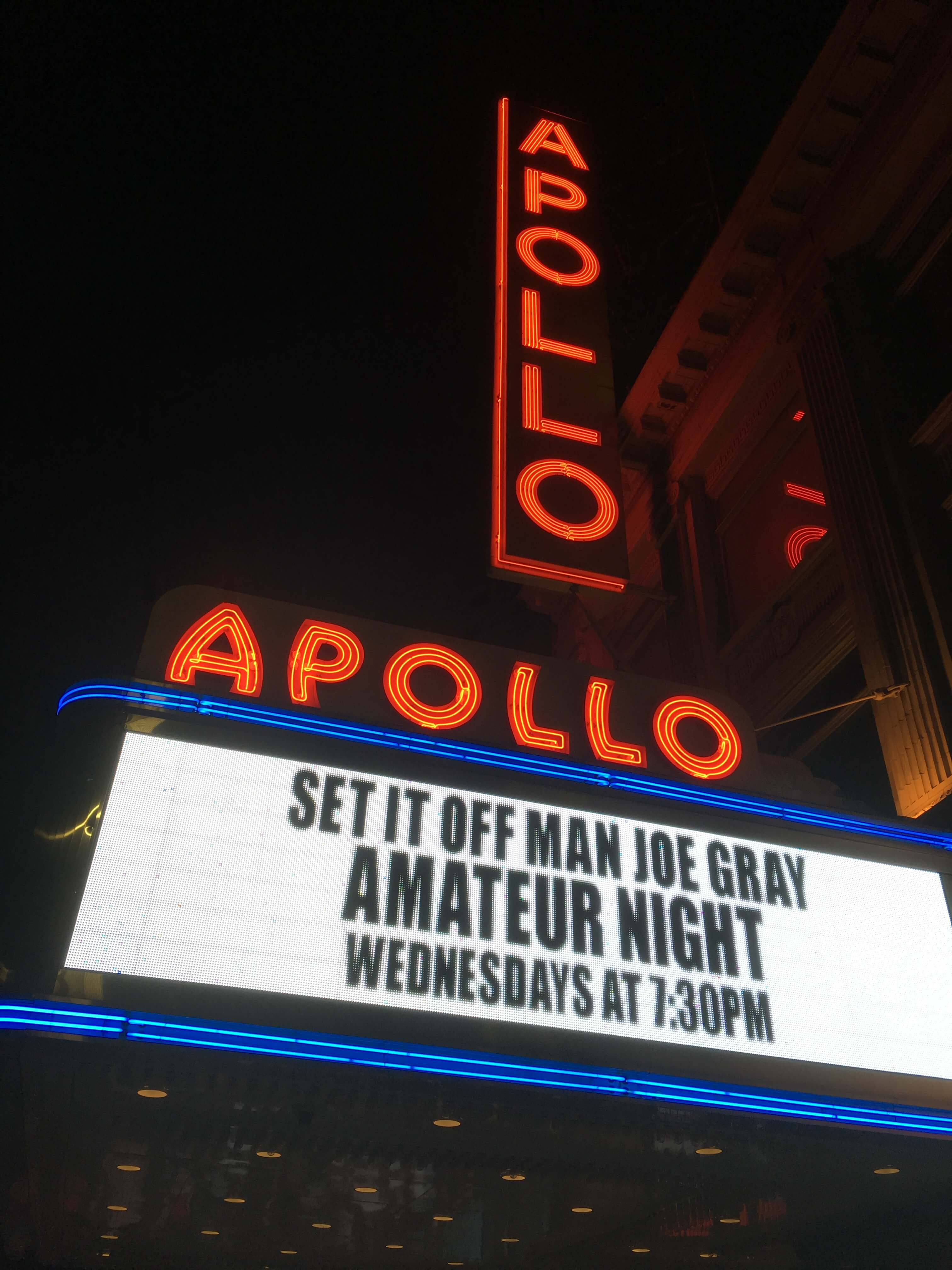Things to do in Harlem: Apollo theatre, Harlem, NYC, New York City, Amature night at the Apollo