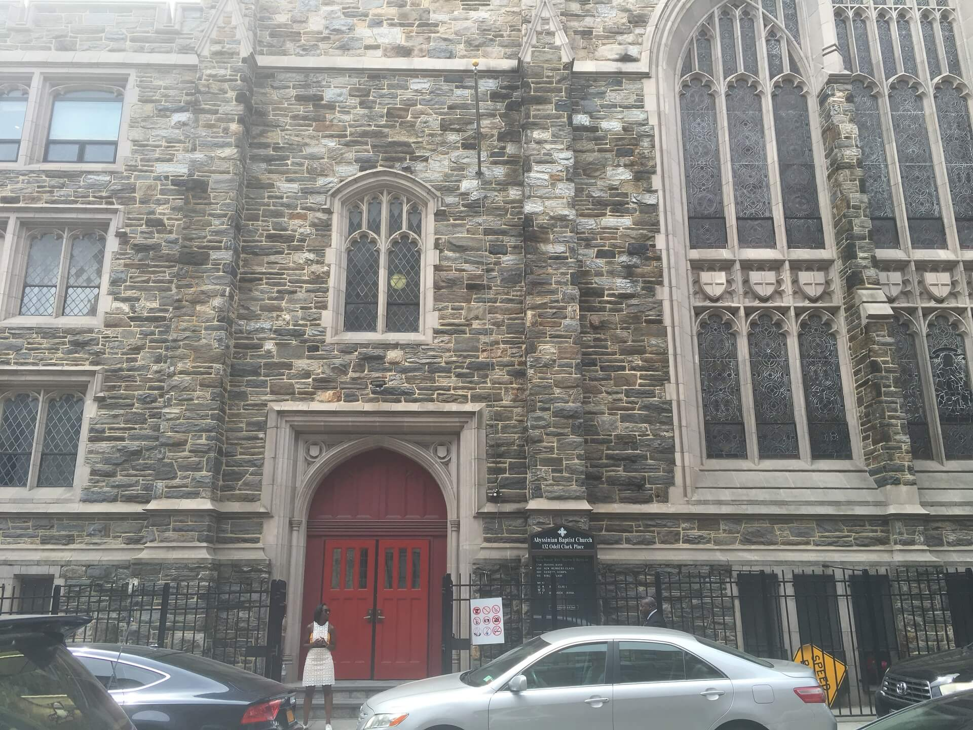 abyssinian church - Travels with Talek