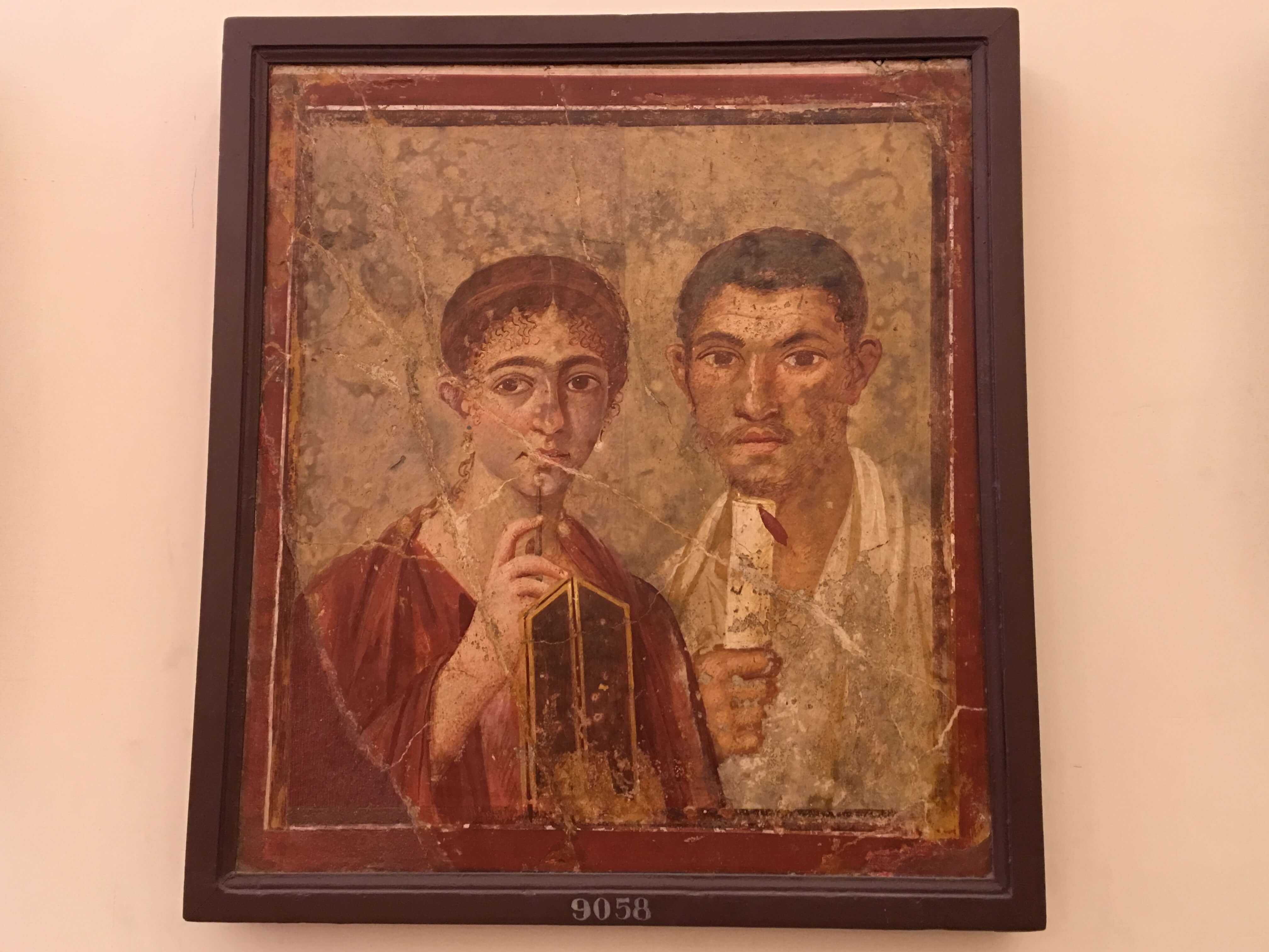 Portrait at the Naples Natiional Archaeological Museum