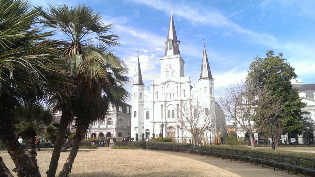 Saint Louis cathedral in New Orleans - Spooky Things to Do in New Orleans