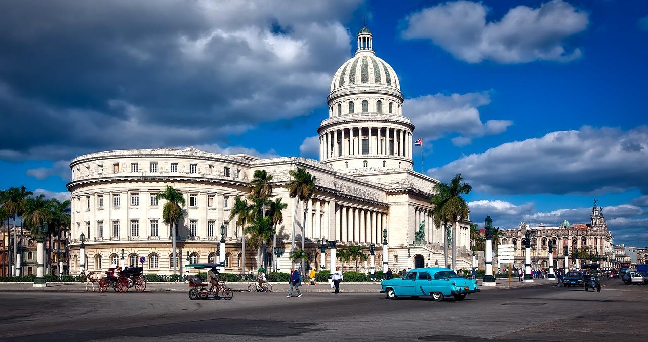 the Havana capitol building