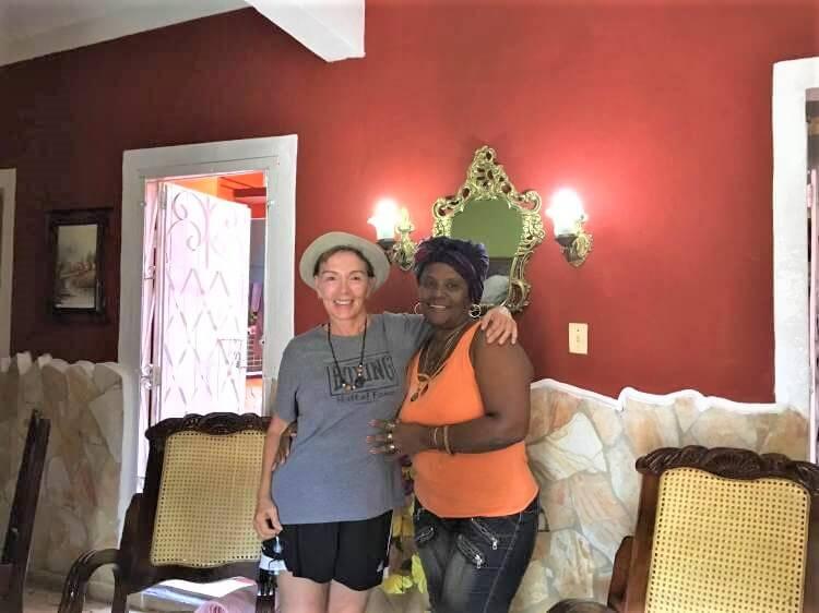 My casa hostess, Teresa and I