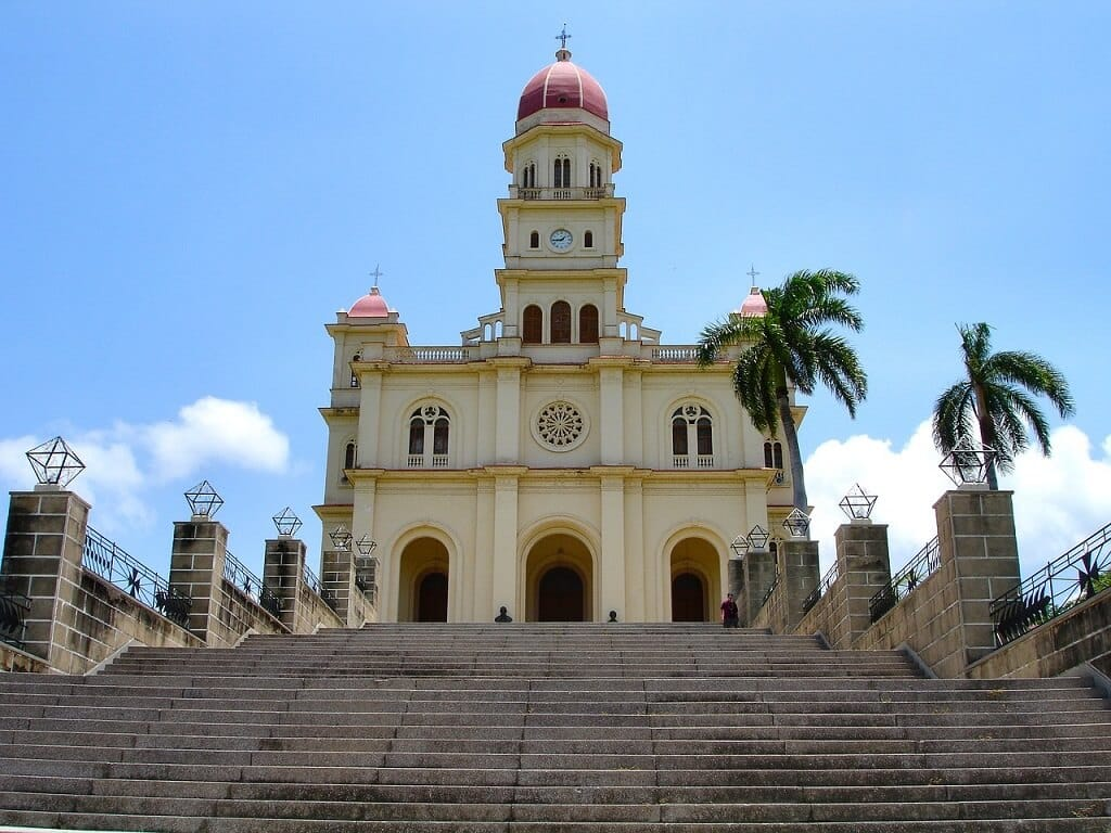Nuestra Senora de La Caridad. One of the best things to do in Santiago de Cuba