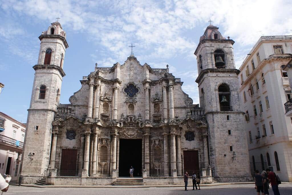 Havana cathedral, a great reason to visit Cuba