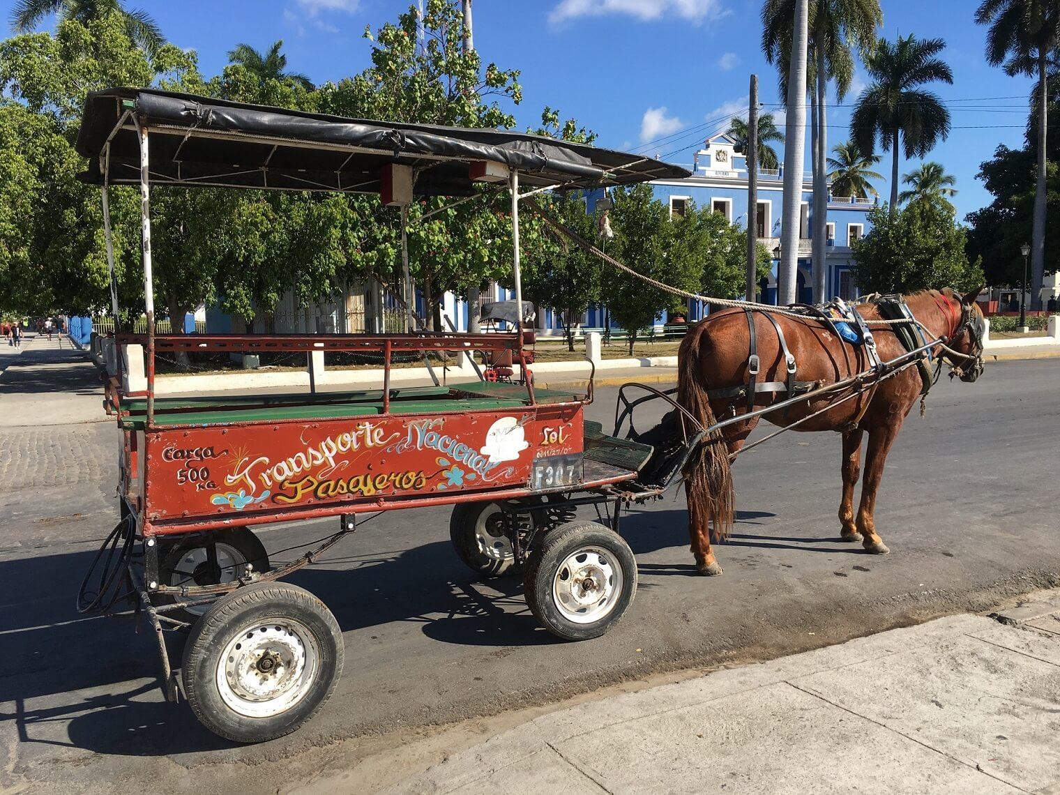Cuban transportation taxis