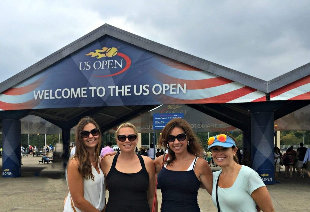 At the U.S. Open in New York City, unique New York City activities