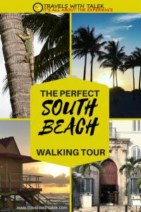 South Beach self-guided walk tour