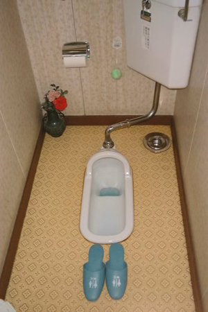 Not-so weird things in Japan: Squat Toilets