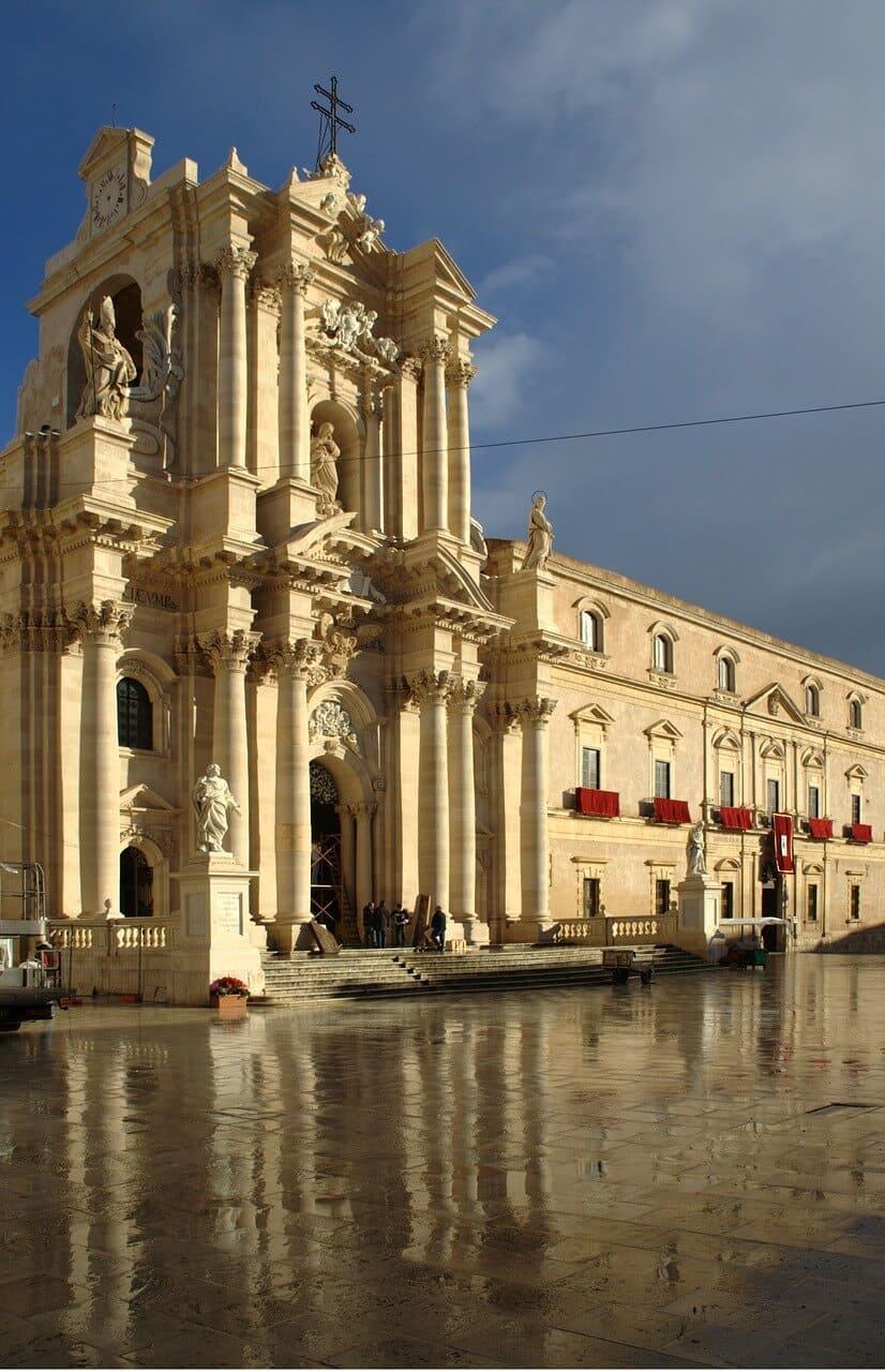 Il Duomo Cathedral in Ortigia