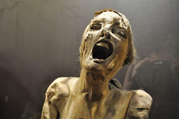 One of the mummies of Guajajuato