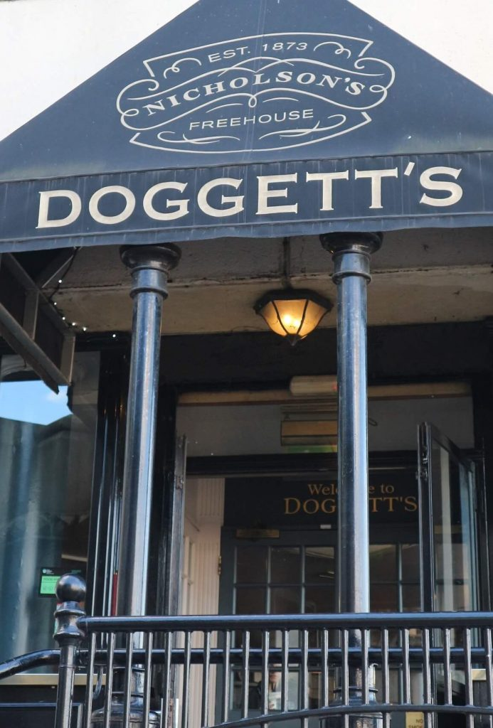 Exterior of Doggett's seen on my South Bank walk