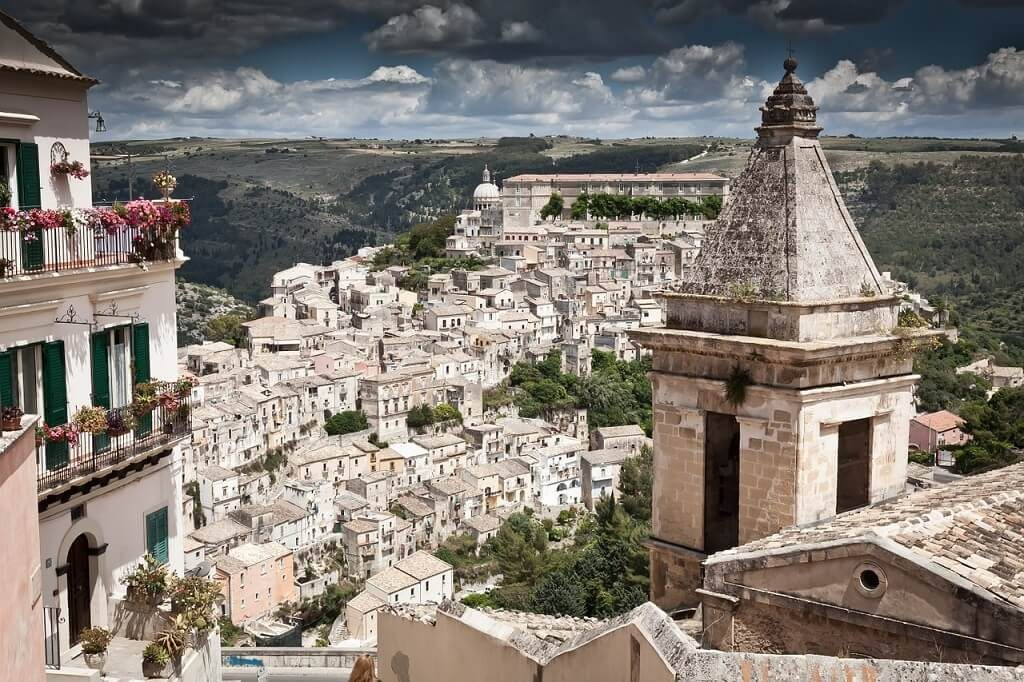 The town of Ragusa