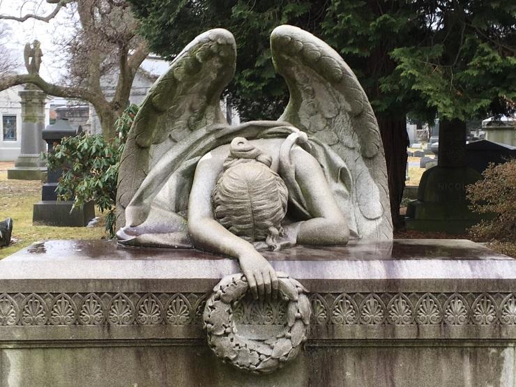 USA cemetery icon