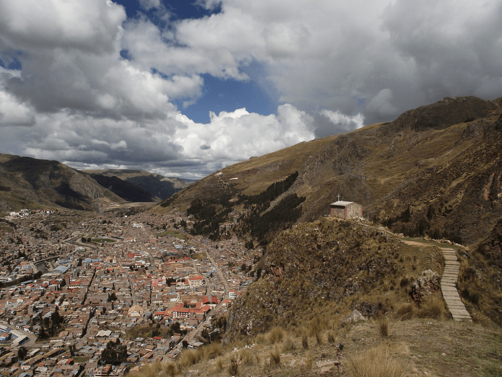 Peru landscape - scenic railway journeys