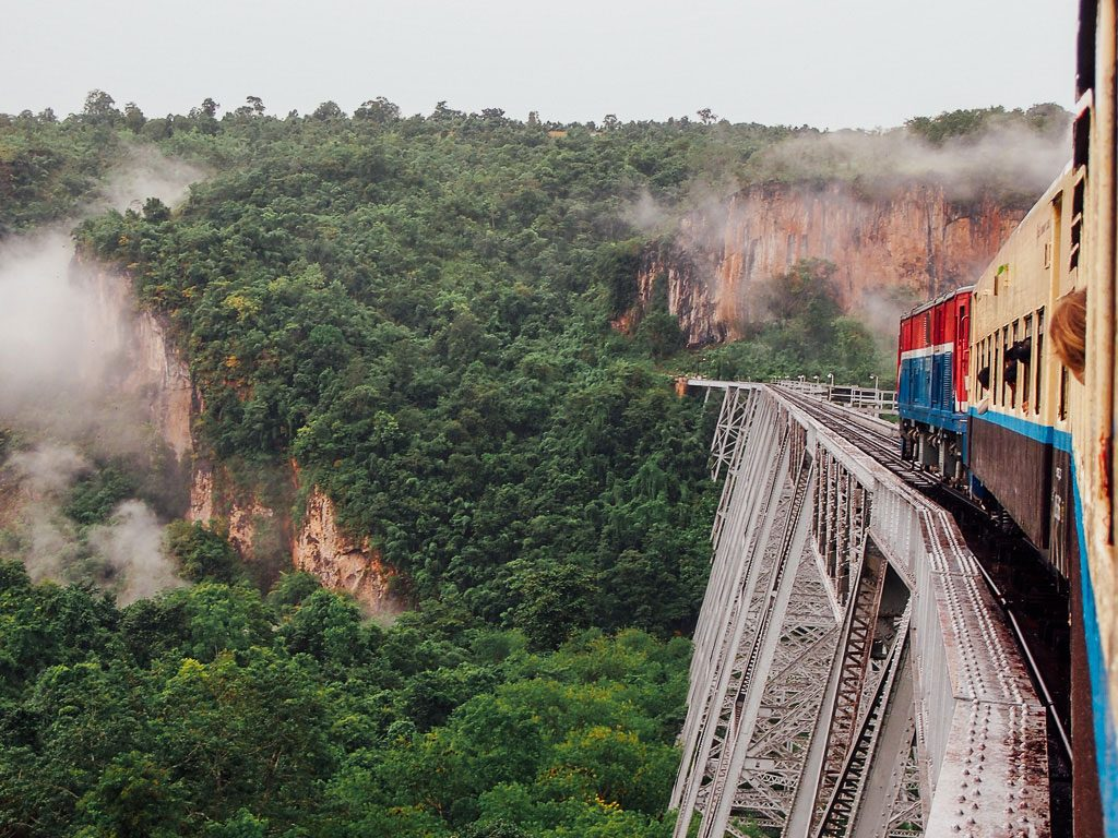Myanmar train one of the best train vacations