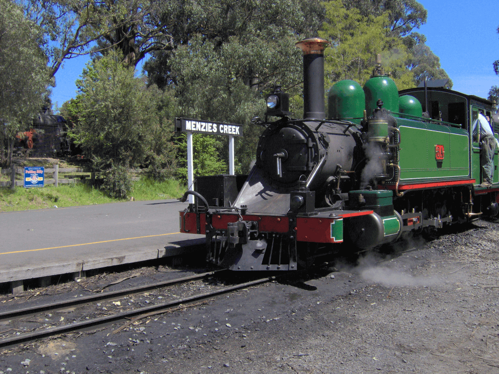 Puffing Billy train vacations