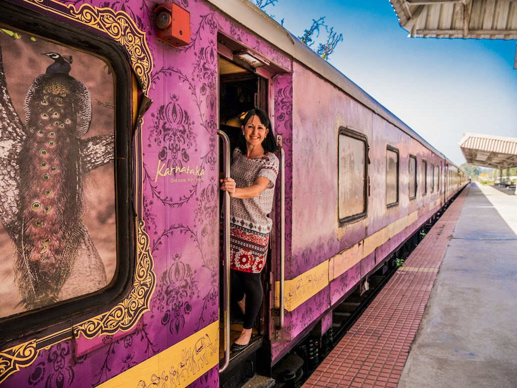 Golden Chariot offers luxurious train vacations