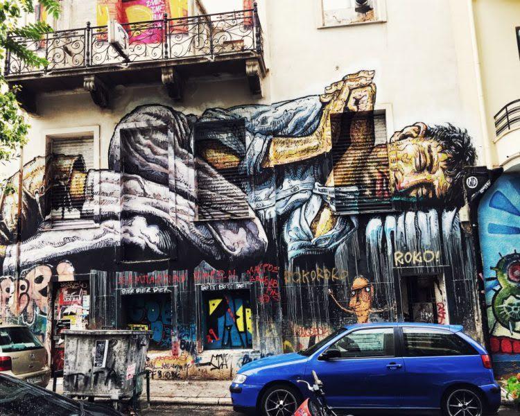 Athens, Greece Graffiti
