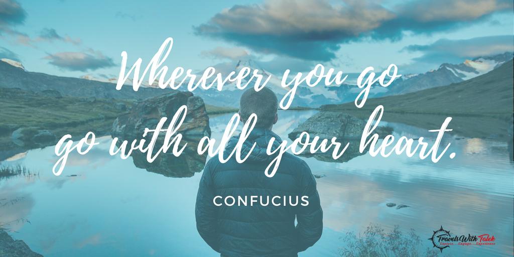 Adventure Travel Quote - Confucius