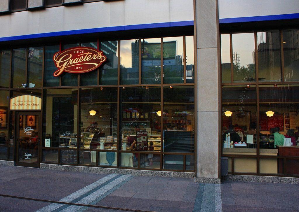 The exterior of Graeter's in Cincinnati