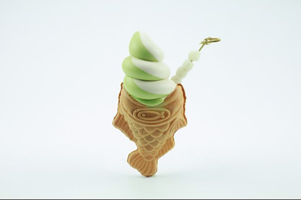 Gourmet ice cream cone from Somi Somi