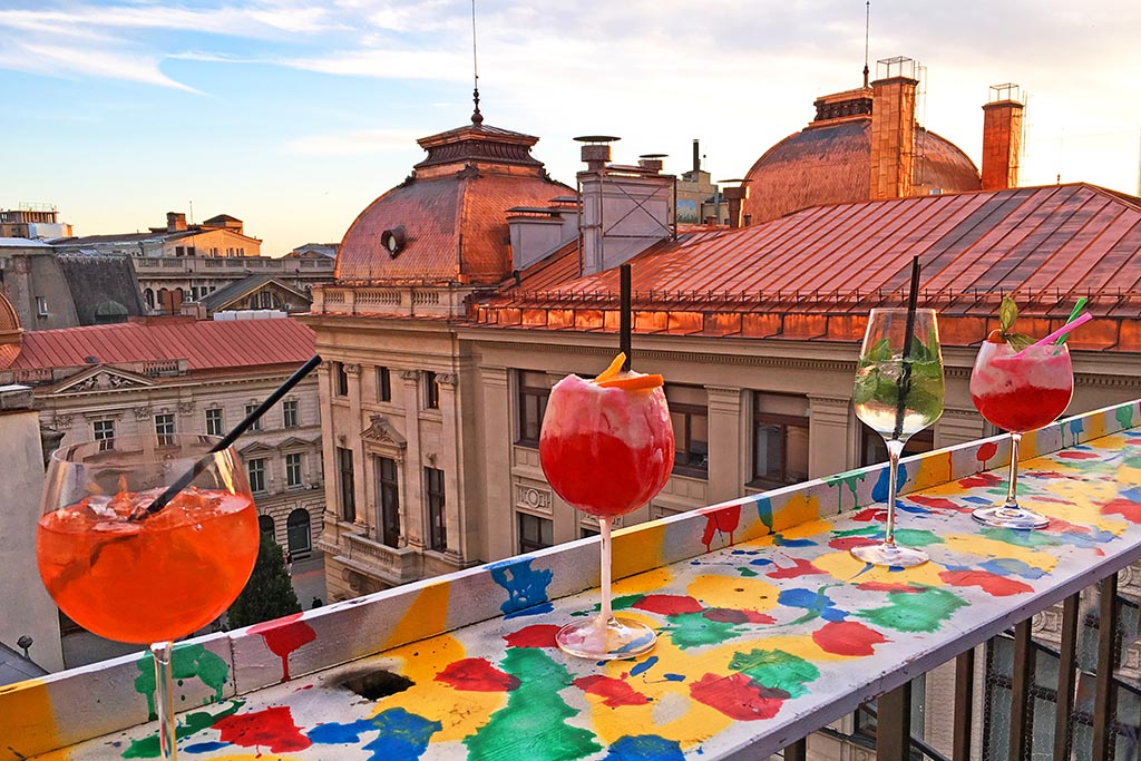 Top Rooftop Lounges - Bucharest