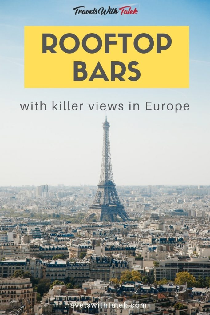 Rooftop Lounges and Bars in Europe
