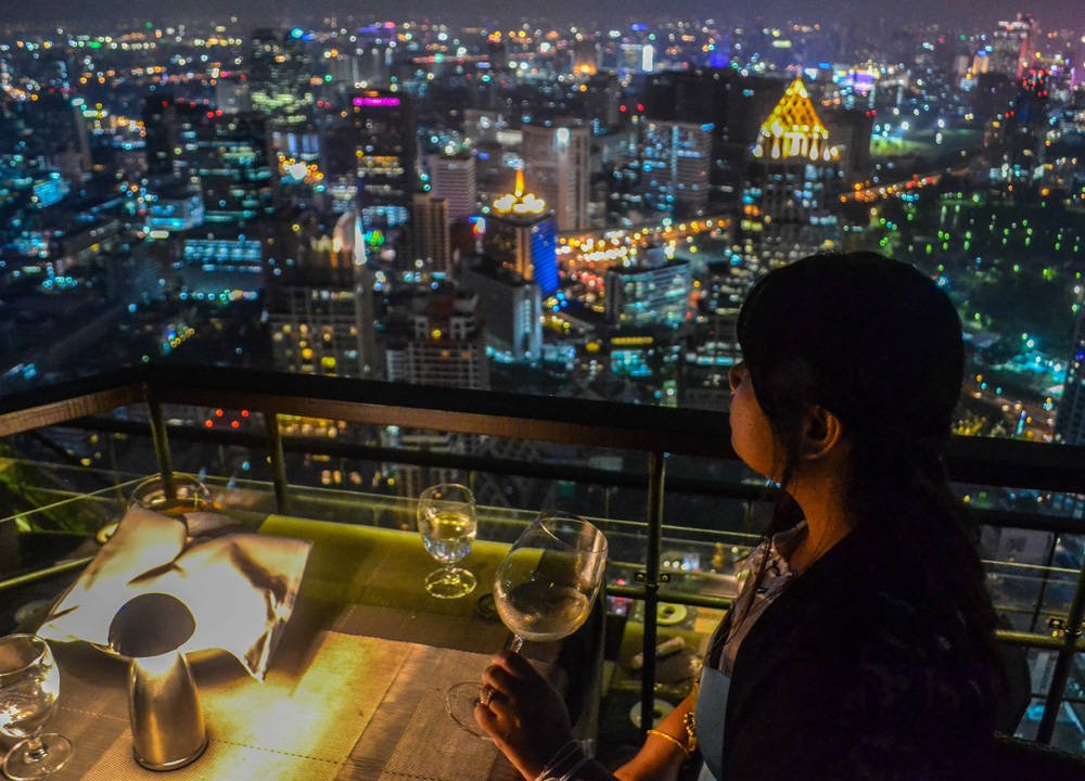 Thailand has one of the top rooftop venues in the world