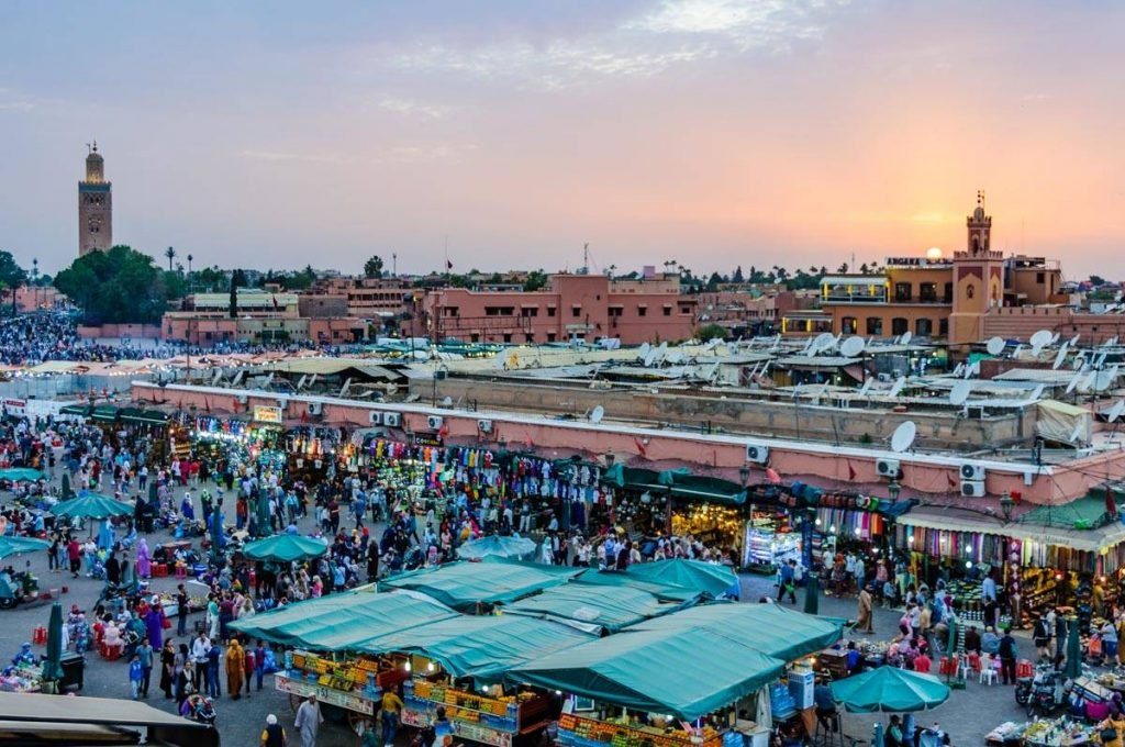 Morocco has one of the top rooftop venues in the world.