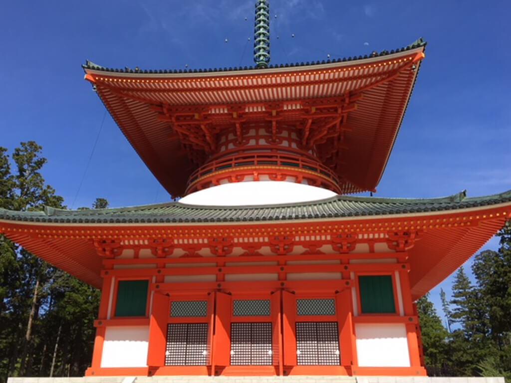 Koya-san temple in Japan Cemetery