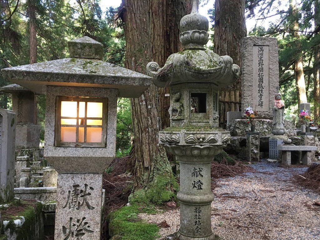 Okunoin Cemetery in Koya-san, Japan Cemetery