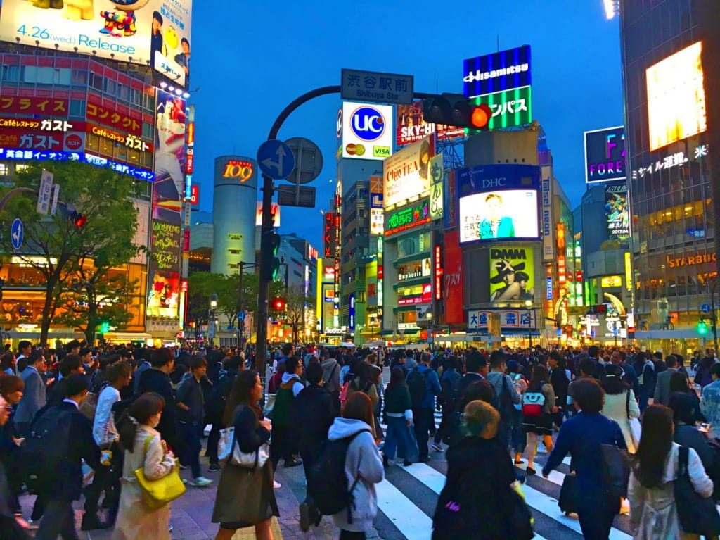 Cool Things to do in Japan - Shibuya Crossing