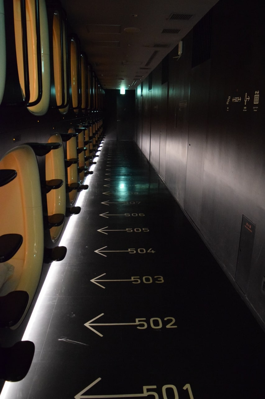 Unique Things About Japan - Capsule Hotel