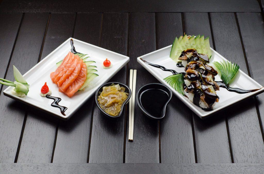 kaiseki ryori meal at a ryokan