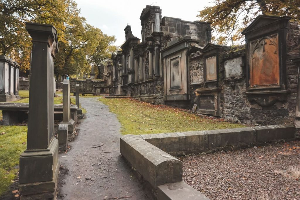 Greyfriars Kirkyard - A Haunted Location in Scotland