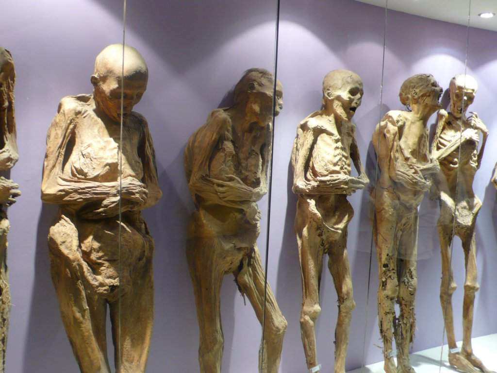 Mummies of Guanajuato. Most haunted places to visit