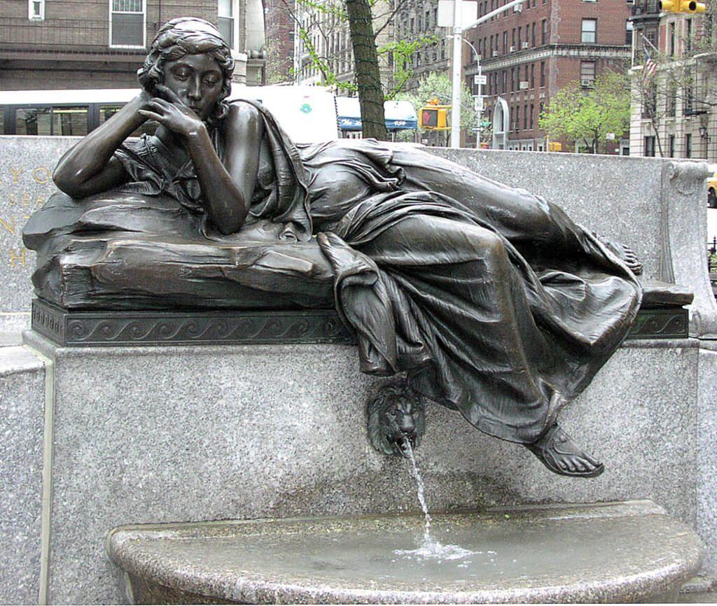 Audrey Munson Strauss monument