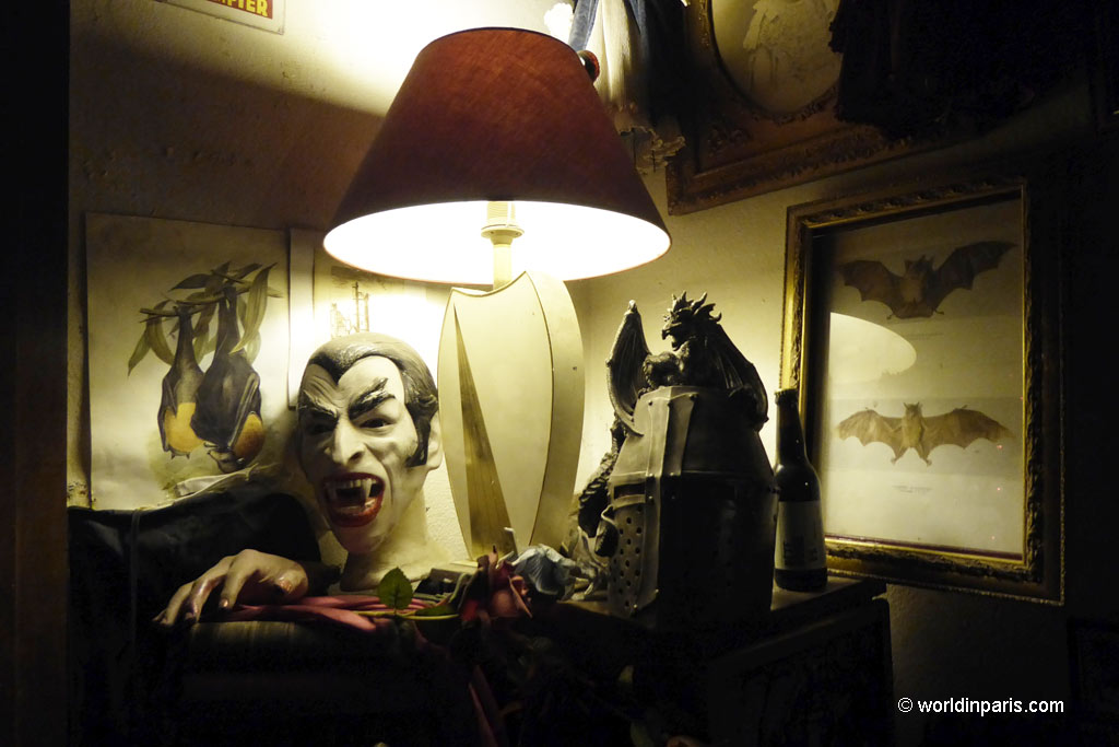 Vampire Museum - One of the most haunted places to visit in Paris