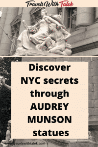 statue of Audrey Munson in NYC