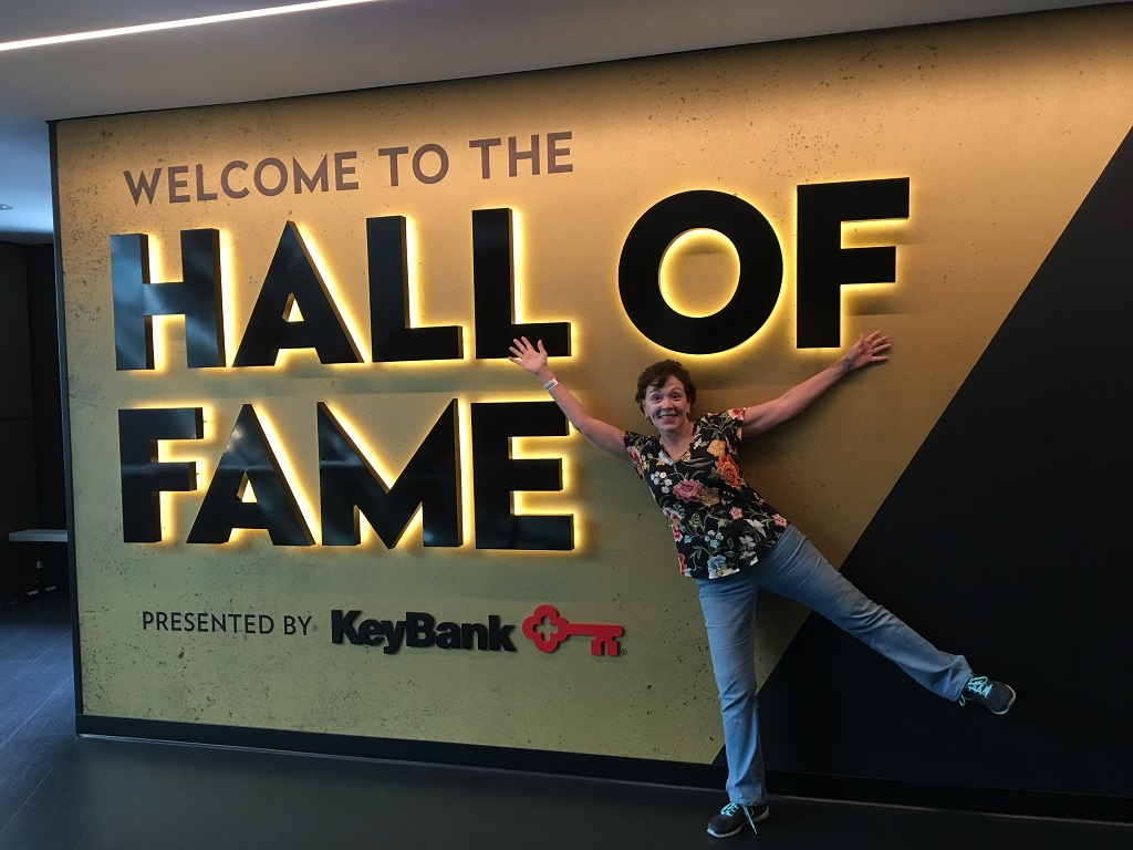 musical road trip at the Rock and Roll Hall of Fame