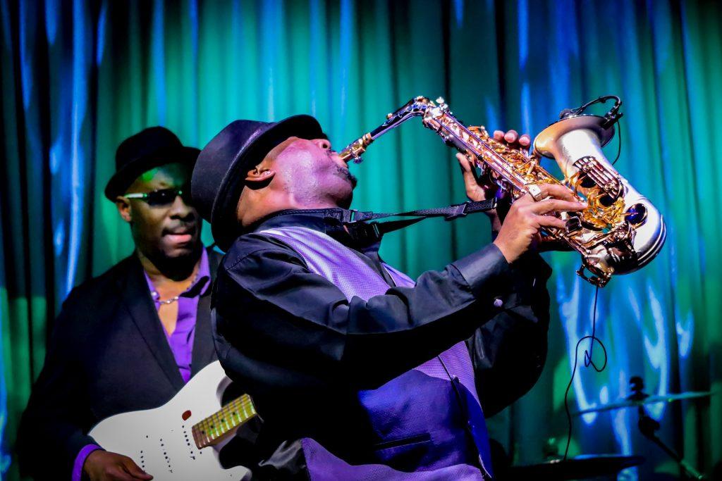 Jazz musicians, musical road trip