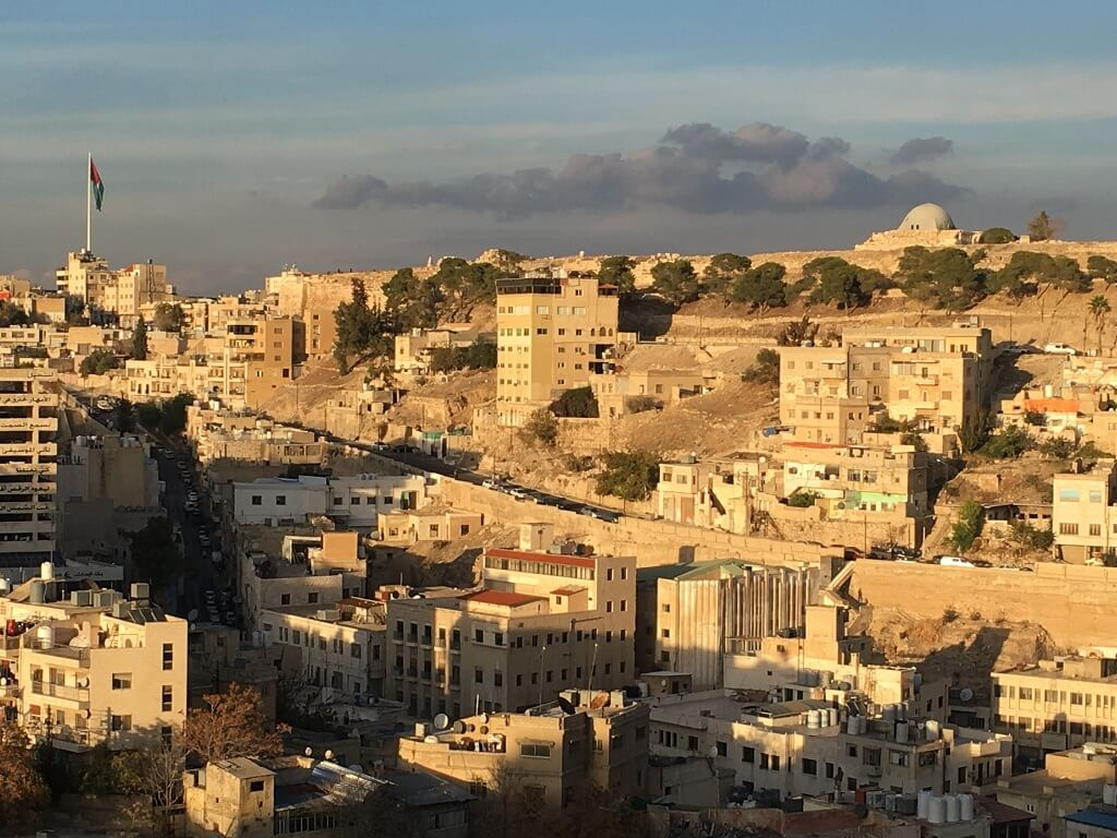 Amman rooftop views, one of the best places to visit in Jordan