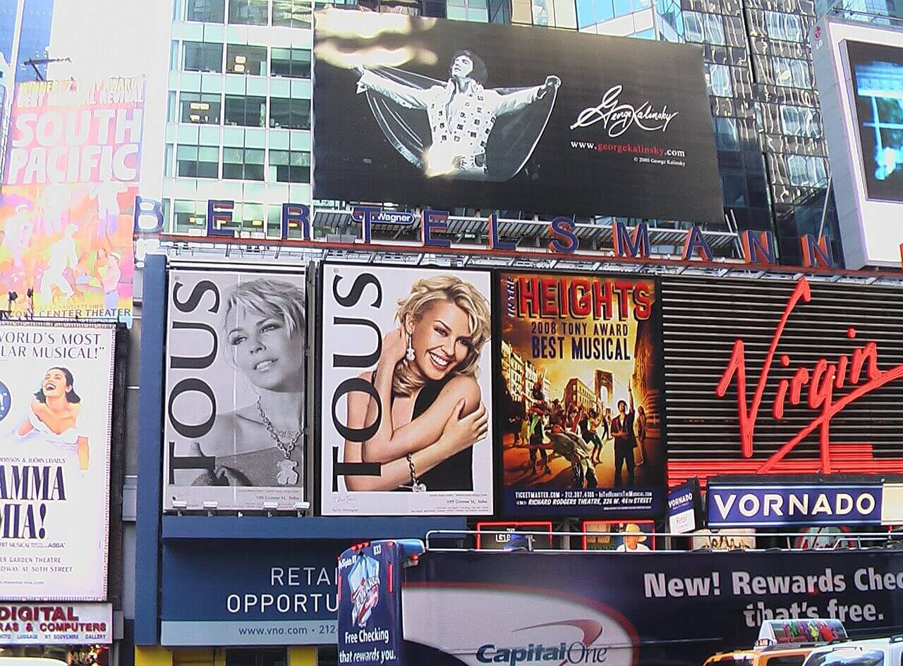things to do in times square at nigh