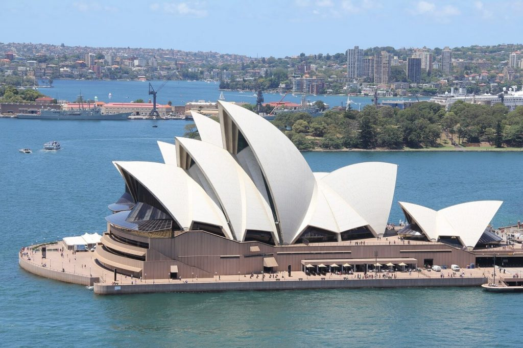 2 week australia itinerary - Sydney opera house