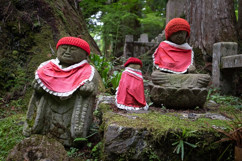 Okunoin is one of the historical cemeteries