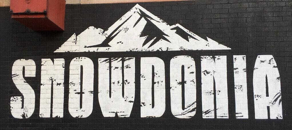 Snowdonia sign
