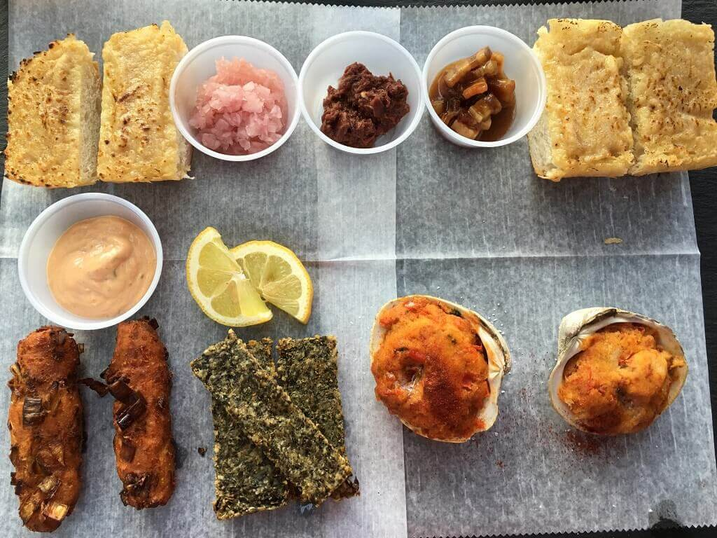 Welsh Sampler at Snowdonia restaurant