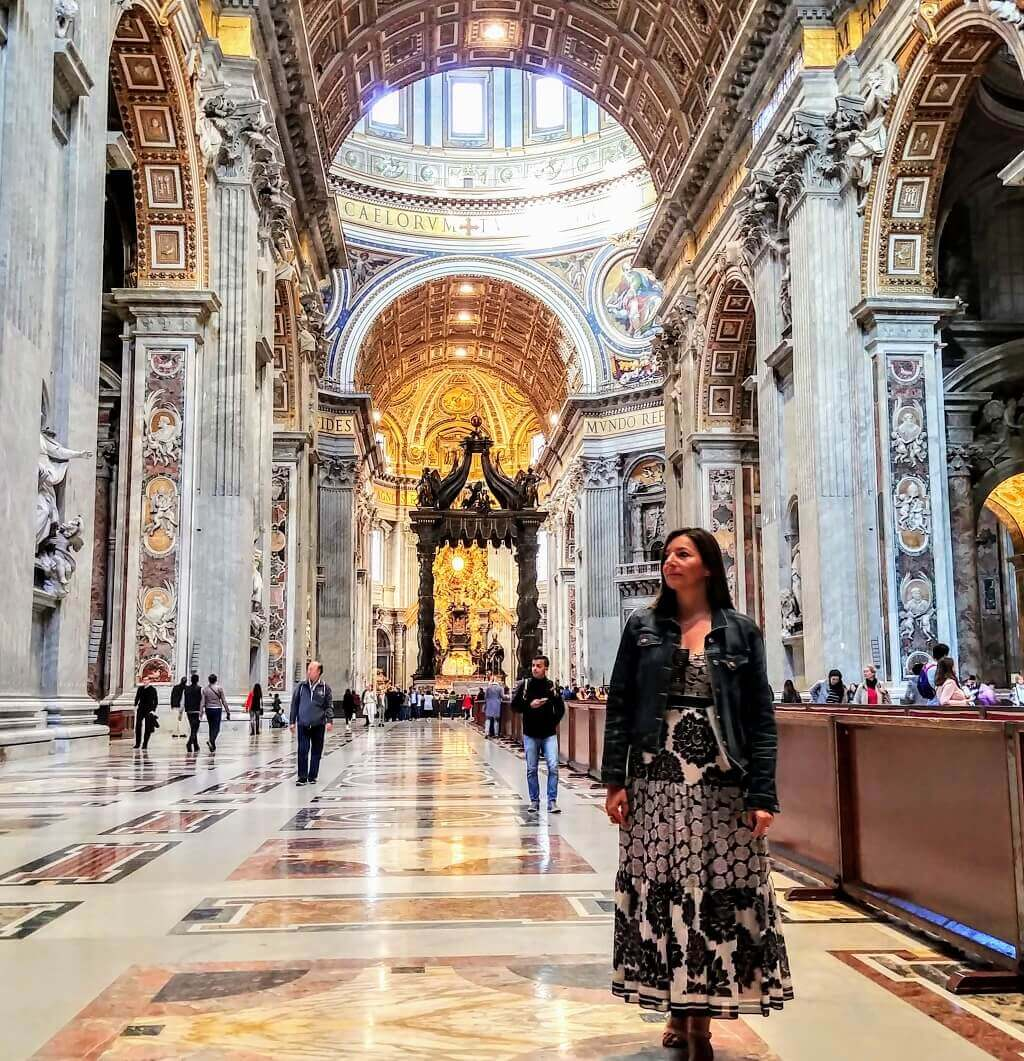St. Peters Basilica is a great day tour