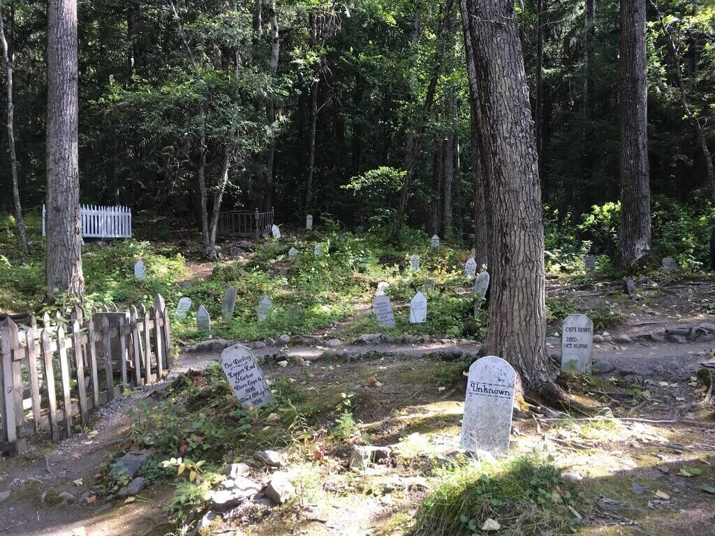 Gold Rush Cemetery, a famous cemetery of the US