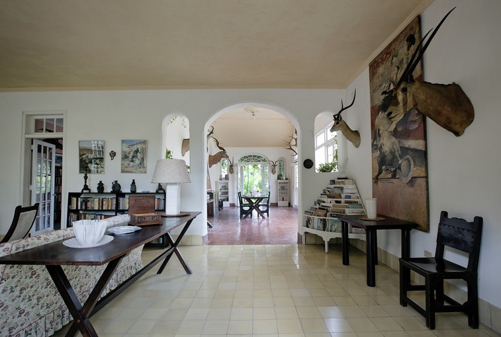 Interior of the Hemingway House